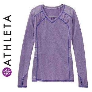 Gray Athleta Northern Lights Long Sleeve
